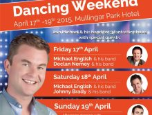 """NIGHTLY"" TICKETS NOW ON SALE FOR MULLINGAR DANCING WEEKEND"
