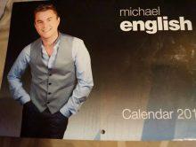Michael English 2015 Calendar – NOW ON SALE
