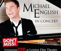 MICHAEL TO APPEAR IN CONCERT AT LEISTON THEATRE, LEISTON, SUFFOLK