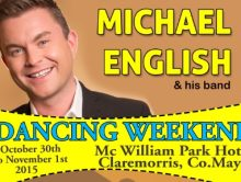Michael English Dancing Weekend at the McWilliam Park Hotel