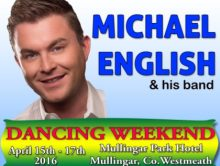 Michael English Dancing Weekend at the Mullingar Park Hotel