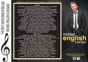 michael english new dates poster jaug and sep
