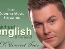 MICHAEL ENGLISH – UK/SCOTLAND TOUR DATES APRIL 2016