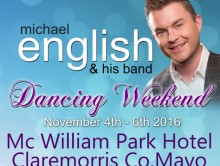MICHAEL ENGLISH DANCING WEEKEND CLAREMORRIS