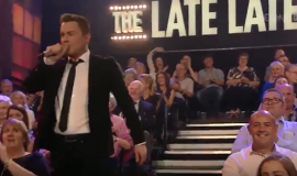 MICHAEL ENGLISH ON THE LATE LATE SHOW
