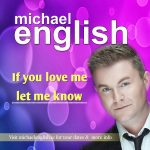 Michael english Cd Front cover if you love me1