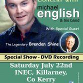 CONCERT (DVD RECORDING) INEC, KILLARNEY, CO. KERRY
