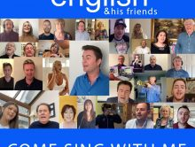 NEW SINGLE  – COME SING WITH ME