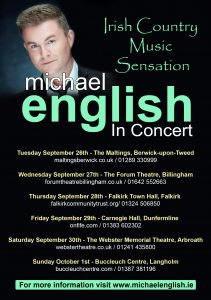Michael english all tour dates england