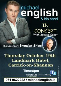 michael english carrick on shannon tour 2017 flyer