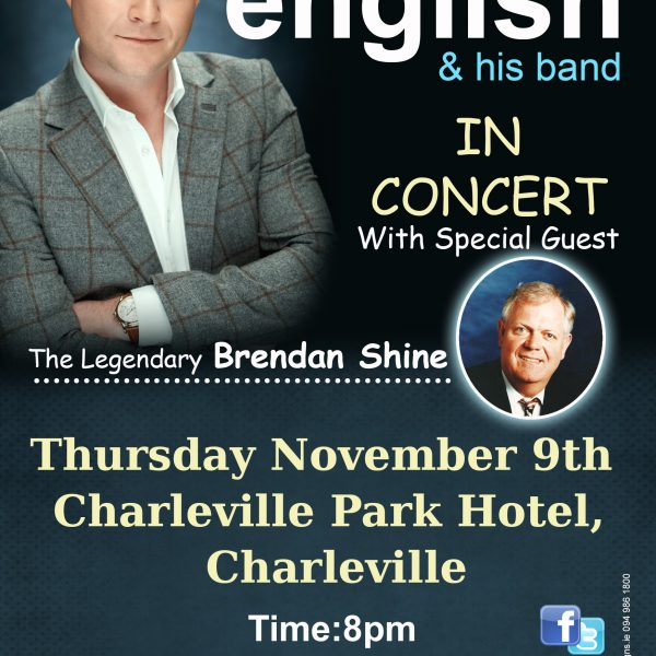 michael english charleville tour 2017 flyer