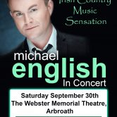 UK CONCERT TOUR – WEBSTER MEMORIAL THEATRE, ARBROATH