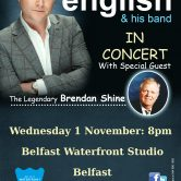 IRISH CONCERT TOUR – WATERFRONT STUDIO, BELFAST(SOLD OUT)