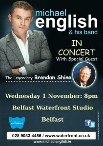 michael english belfast tour 2017 flyer