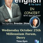 IRISH CONCERT TOUR – MILLENNIUM FORUM, DERRY