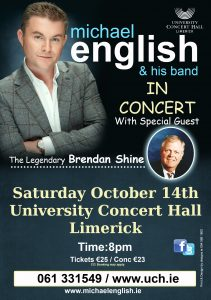 michael english limerick tour 2017 flyer