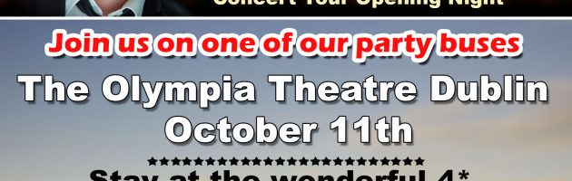 JOIN US ON OUR OLYMPIA THEATRE TRIP TO DUBLIN