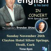IRISH CONCERT TOUR – CLAYTON HOTEL SILVER SPRINGS, TIVOLI, CORK