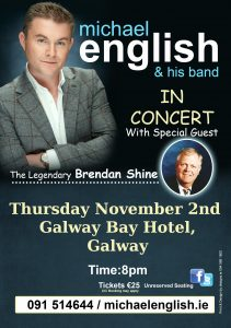 michael english galway tour 2017 flyer