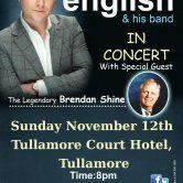 IRISH CONCERT TOUR – TULLAMORE COURT HOTEL, TULLAMORE