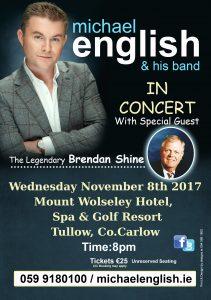 michael english tullow tour 2017 flyer
