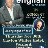 IRISH CONCERT TOUR – CLAYTON WHITES HOTEL, WEXFORD (SOLD OUT)