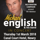 CONCERT – CANAL COURT HOTEL, NEWRY, CO. DOWN