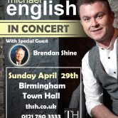 UK CONCERT TOUR – BIRMINGHAM TOWN HALL (SOLD OUT)