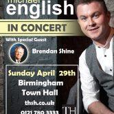UK CONCERT TOUR – BIRMINGHAM TOWN HALL