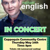 CONCERT – CAPPOQUIN COMMUNITY CENTRE, CO. WATERFORD