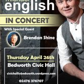 UK CONCERT TOUR – BEDWORTH CIVIC HALL, BEDWORTH