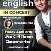 UK CONCERT TOUR – WEST CLIFF THEATRE, CLACTON-ON-SEA