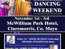 MICHAEL ENGLISH – CLAREMORRIS DANCING WEEKEND