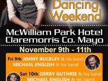 MICHAEL ENGLISH – CLAREMORRIS DANCING WEEKEND