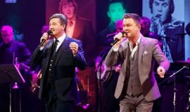 MICHAEL DUETS WITH DANIEL ON DONNELL ON THE LATE LATE SHOW COUNTRY SPECIAL