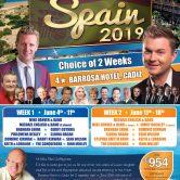 DANCE – PAUL CLAFFEY TOURS, CADIZ, SPAIN (Private Function)