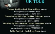 UK TOUR – SEPTEMBER 2018
