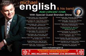 MICHAEL ENGLISH ALL DATES IRISH TOUR + INEC