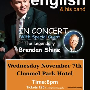 michael english clonmel TOUR POSTER 2018