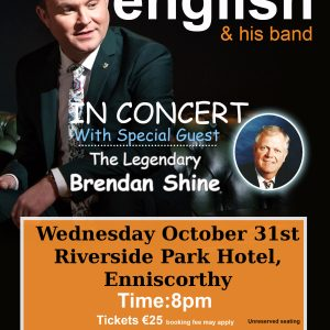 michael english enniscorthy TOUR POSTER 2018