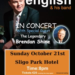 michael english sligo TOUR POSTER 2018