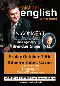michael english CAVAN TOUR POSTER 2018