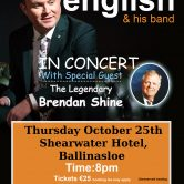 IRISH CONCERT TOUR – SHEARWATER HOTEL, BALLINASLOE