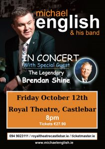 michael english castlebar TOUR POSTER 2018