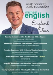 michael english tour all dates new