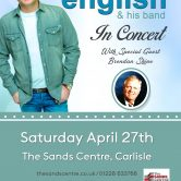 UK CONCERT TOUR – THE SANDS CENTRE, CARLISLE