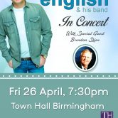 UK CONCERT TOUR – TOWN HALL BIRMINGHAM