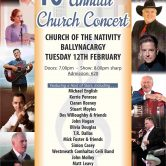 GUEST SPOT – CHURCH CONCERT, BALLYNACARY, CO. WESTMEATH