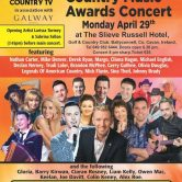 GUEST SPOT – HOT COUNTRY MUSIC AWARDS, SLIEVE RUSSELL HOTEL