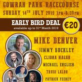 (DAY) KILKENNY COUNTRY MUSIC FESTIVAL, GOWRAN PARK, CO. KILKENNY